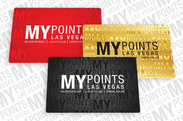 Las Vegas Rewards Player Card