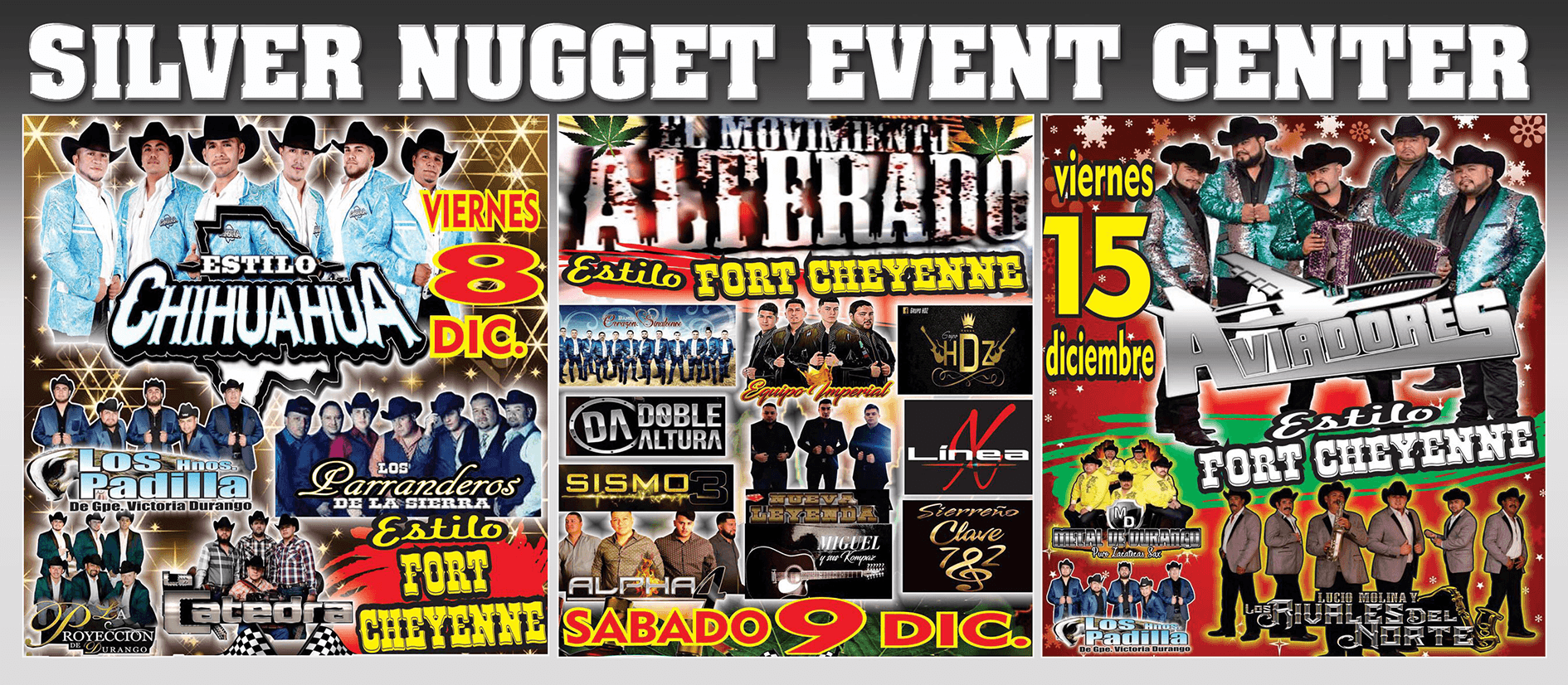 Silver Nugget Event Center - Upcoming Concerts